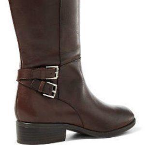 Ralph Lauren Marba Riding Boots - Dark Brown